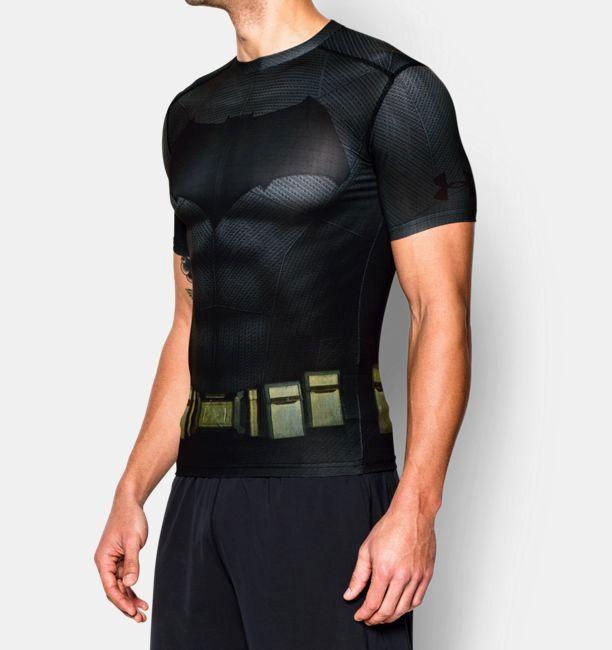 Lækker Type Shirts Under Armour Alter Ego Batman Compression Shirt HP-24