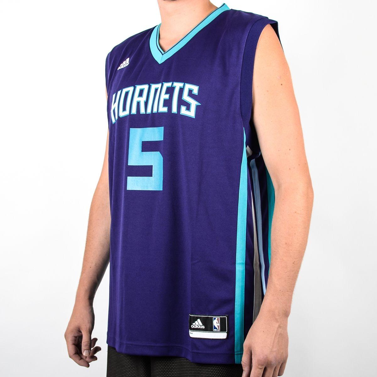 purchase cheap 3eb48 1c3d4 Type Shirts adidas NBA Charlotte Hornets Nicolas Batum Replica Jersey
