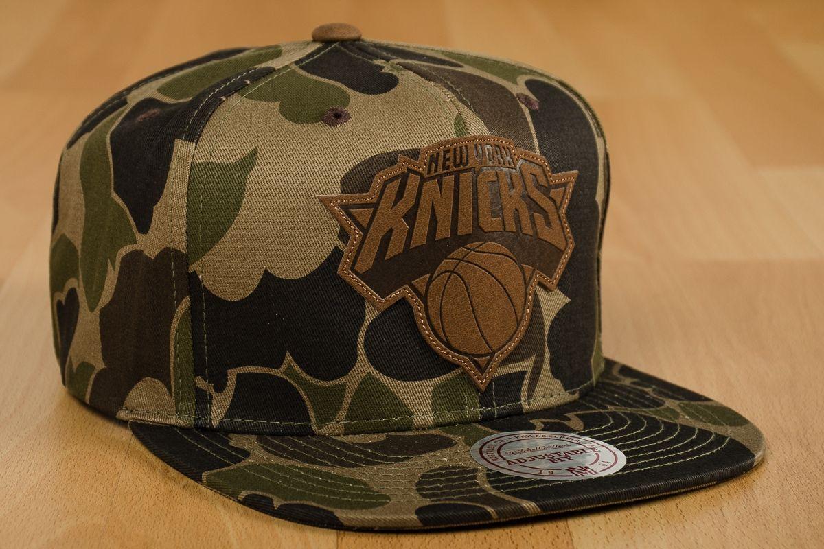 NEW YORK KNICKS COMBO CAMO NEW ERA 9FIFTY SNAPBACK HAT CAP NBA