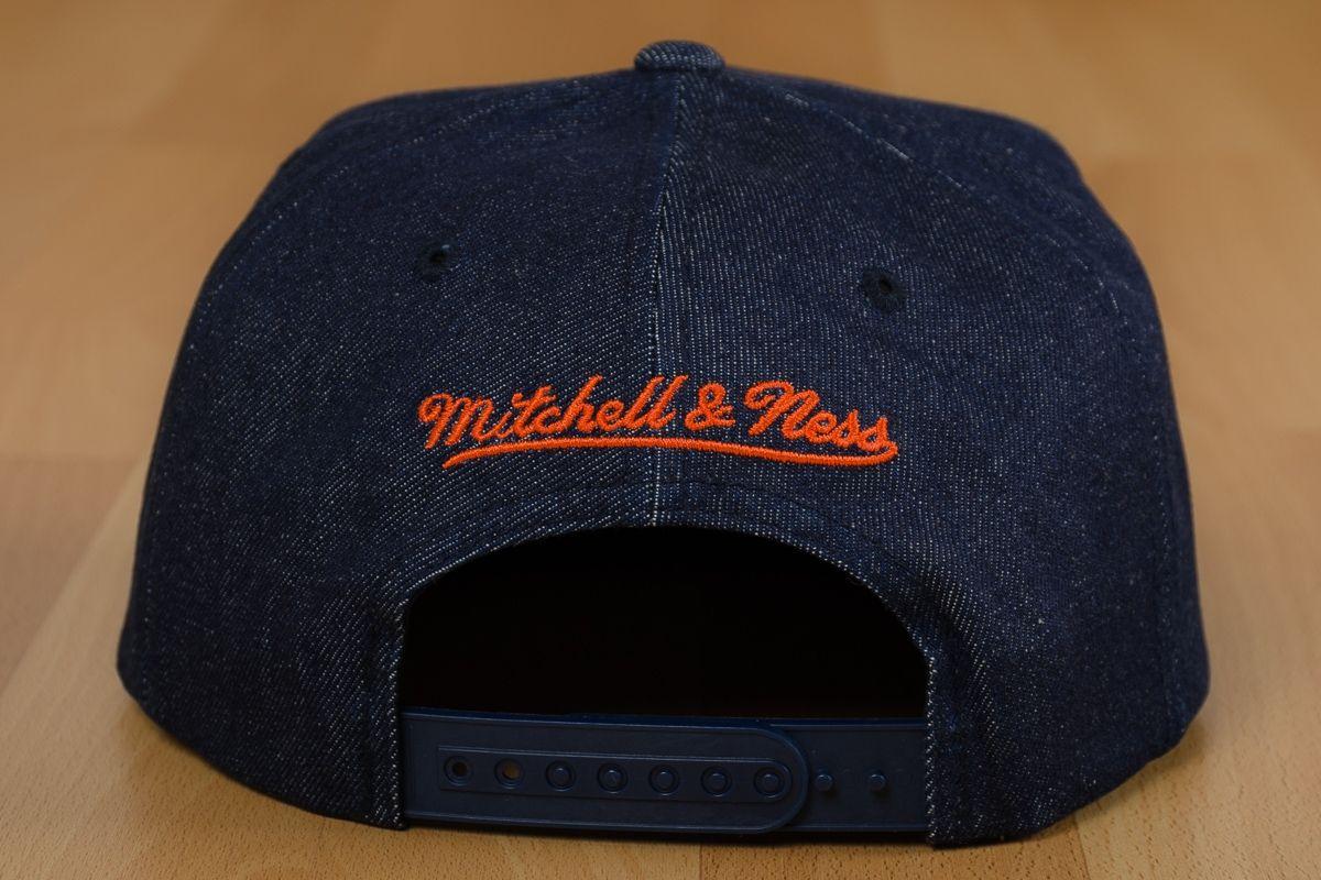 super popular 9fb97 a734c 1200x800 · Type Caps Mitchell  amp  Ness NBA New York Knicks Raw Denim  Snapback Cap