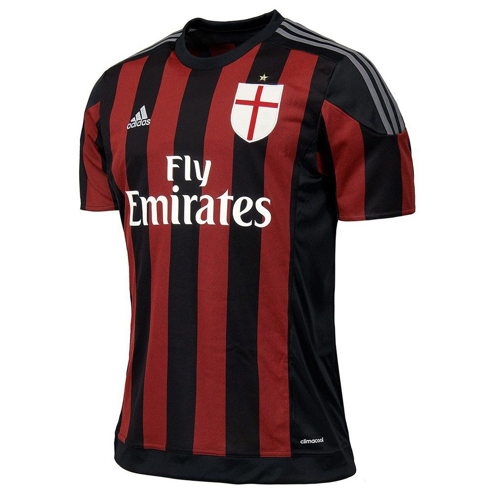 new arrival 7ff04 ed397 Type Shirts adidas AC Milan Home Replica Player Jersey