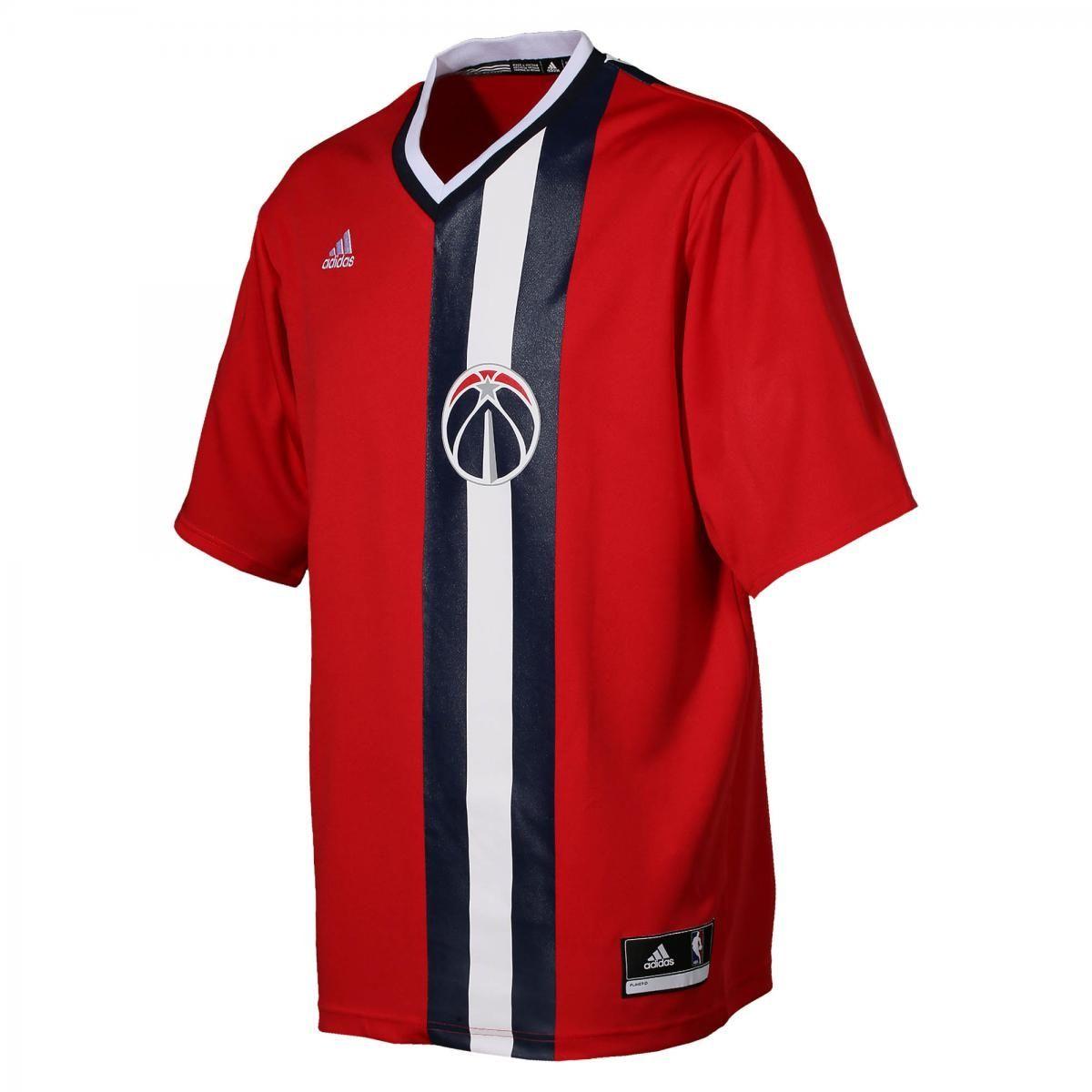 reputable site c8546 e221b Type Shirts adidas NBA Washington Wizards Replica Jersey