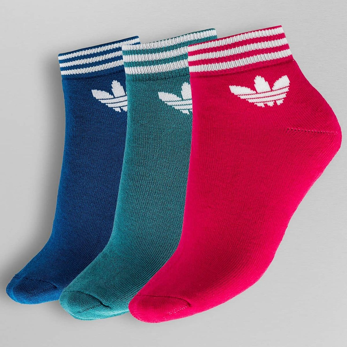 dirt cheap detailed images autumn shoes Type Socks adidas Originals Trefoil Ankle Stripes Socks 3 Pair