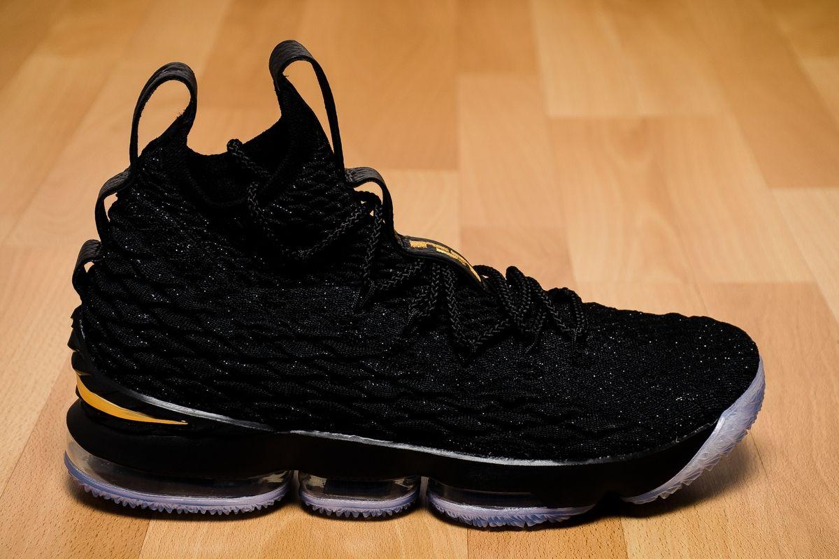 sports shoes 20673 86739 Type Basketball Nike Lebron XV Black Gold
