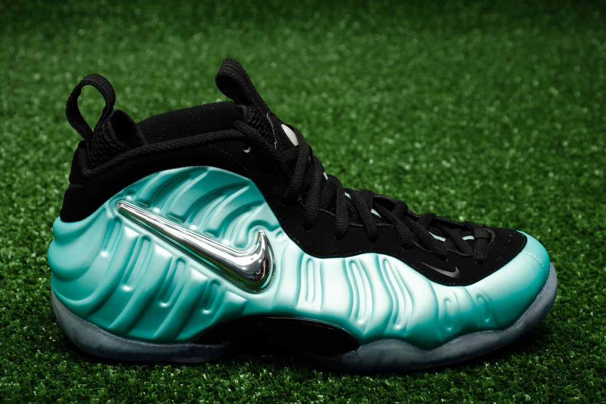 new styles 2f7e4 25ee5 Кецове Nike Air Foamposite Pro Island Green