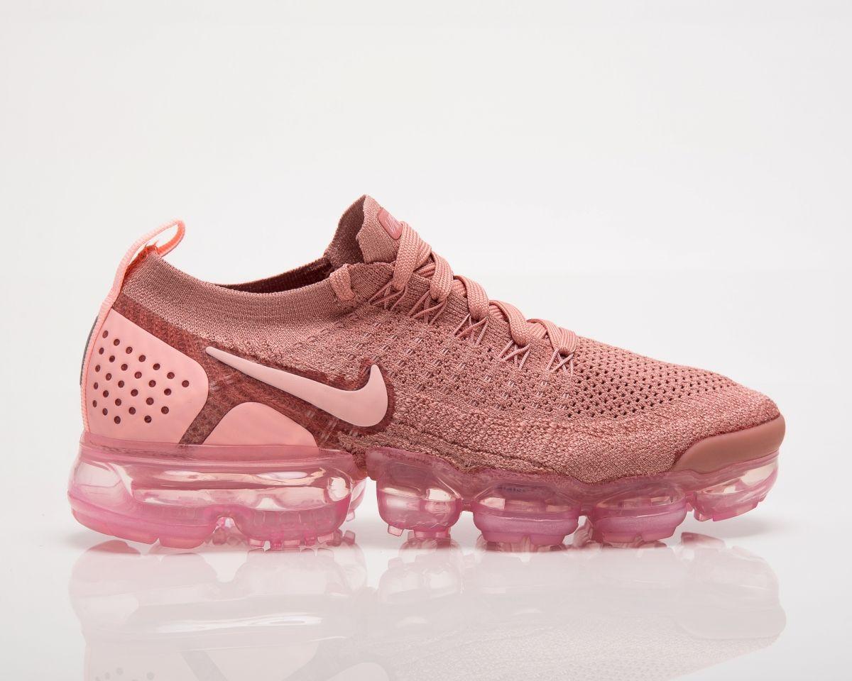 uk availability 423b5 bc9ff Type Running Nike Wmns Air VaporMax Flyknit 2 Rust Pink