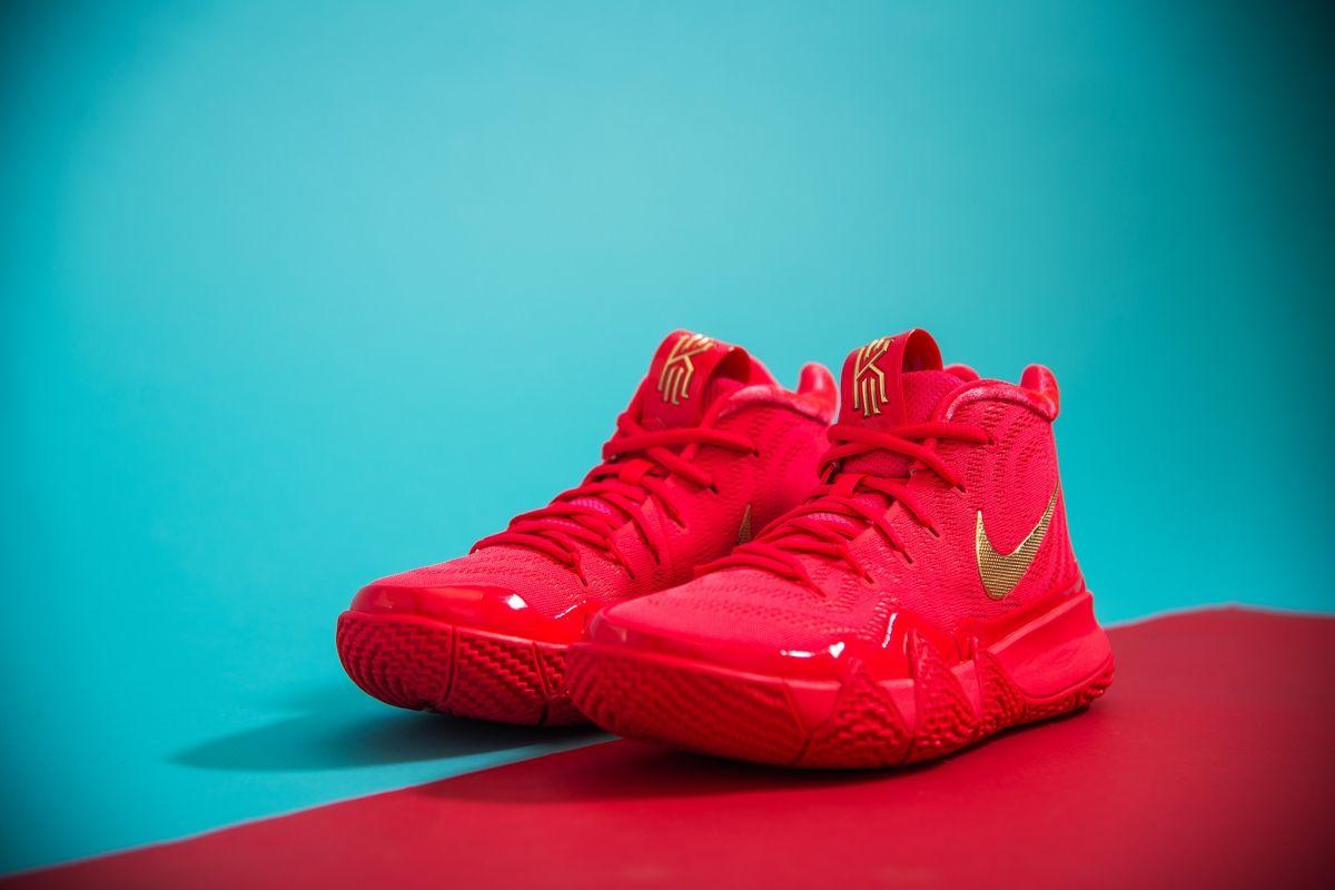 c79807ae27fa Type Basketball Nike Kyrie 4 Red Carpet
