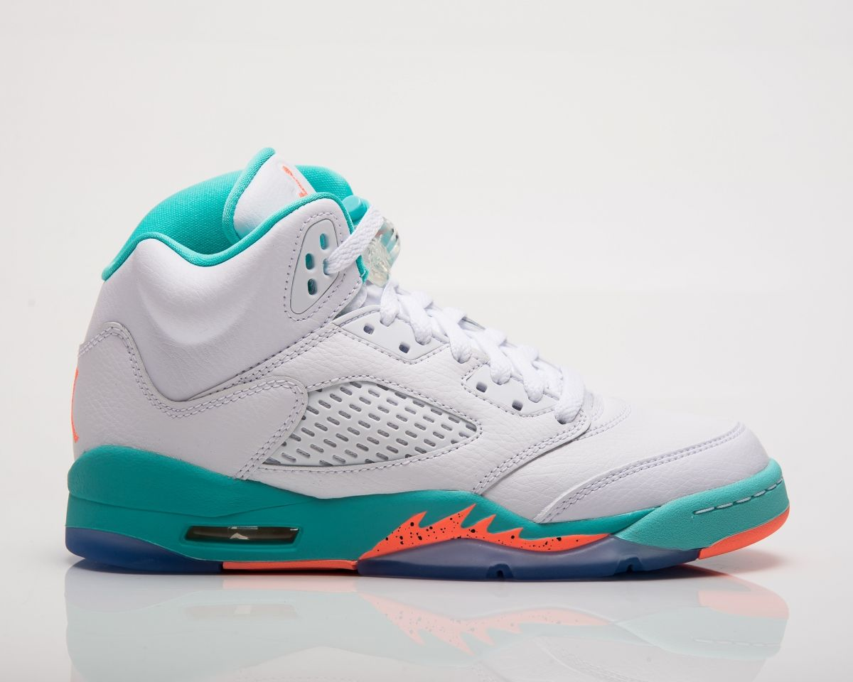 cheap for discount efe77 68380 Type Casual Air Jordan 5 Retro GG Light Aqua