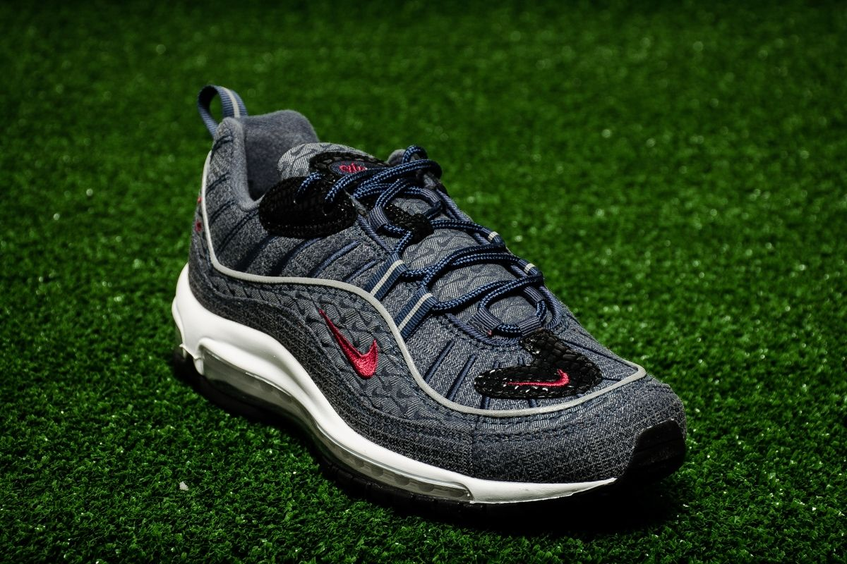 finest selection c4964 3b183 Type Casual Nike Air Max 98 QS Thunder Blue
