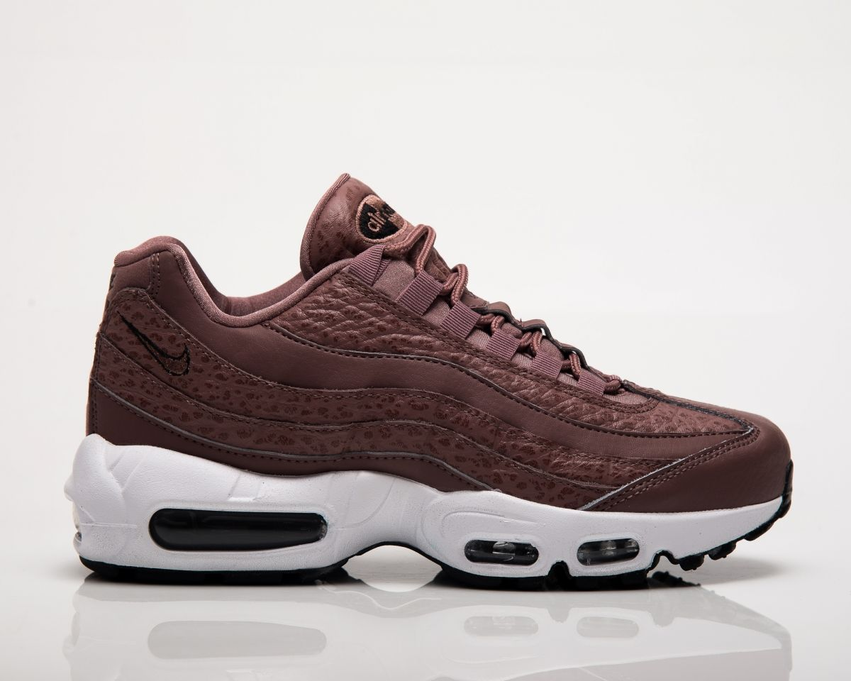 shop nike air max 95 leather brown purple f27f0 a2f72