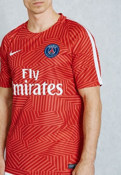 100% authentic 4f13e 94284 Type Shirts Nike Paris Saint-Germain Dry Squad GX Top Jersey