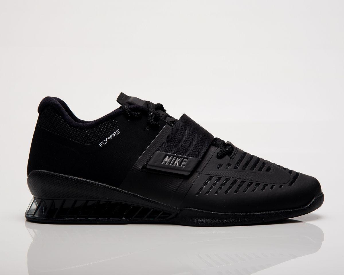 Type Training Nike Romaleos 3 Triple Black