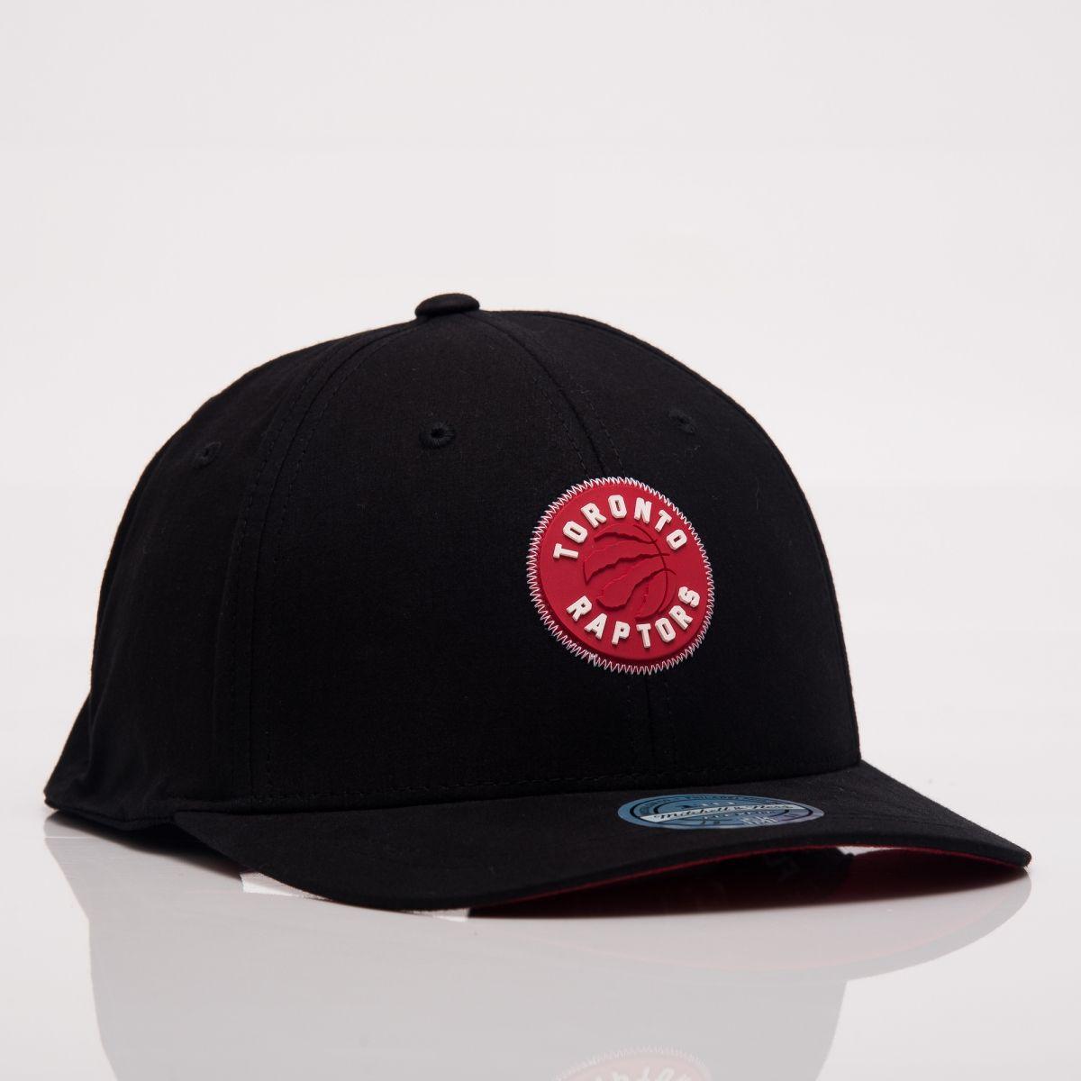 913fd5593b8db8 Type Caps Mitchell & Ness NBA Toronto Raptors Biowashed Zig Zag  Snapback Cap