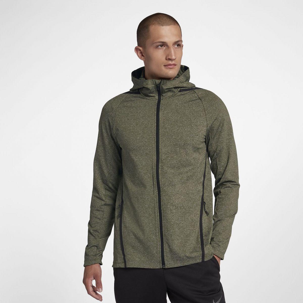 9a04113c Type Hoodies Nike Dri-FIT Long Sleeve Full Zip Training Hoodie