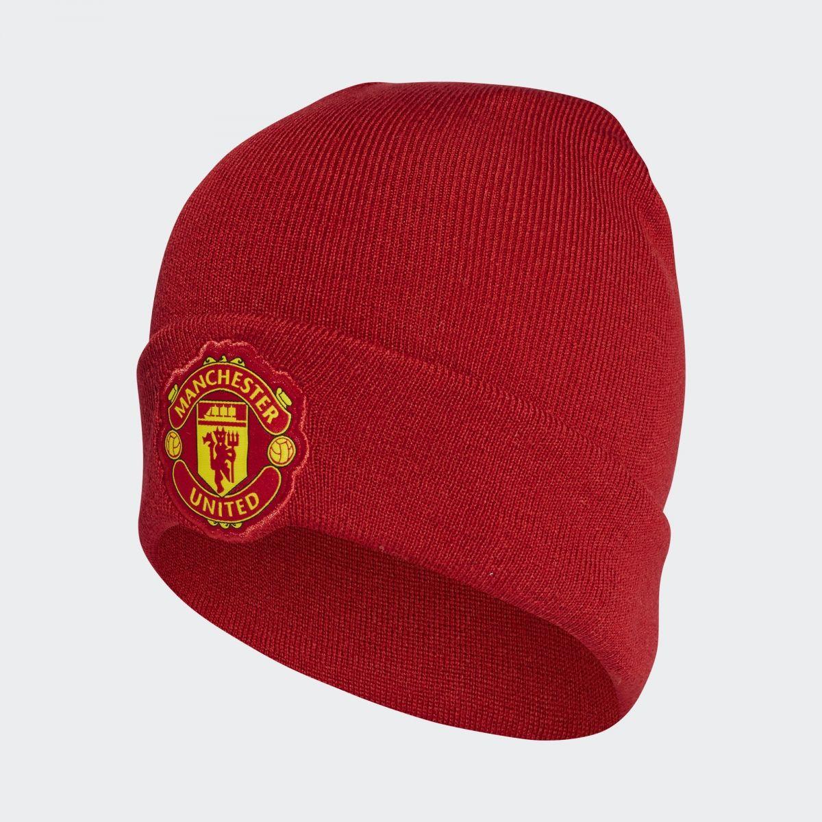 e016f90a3c3 Type Caps adidas Manchester United Home Beanie