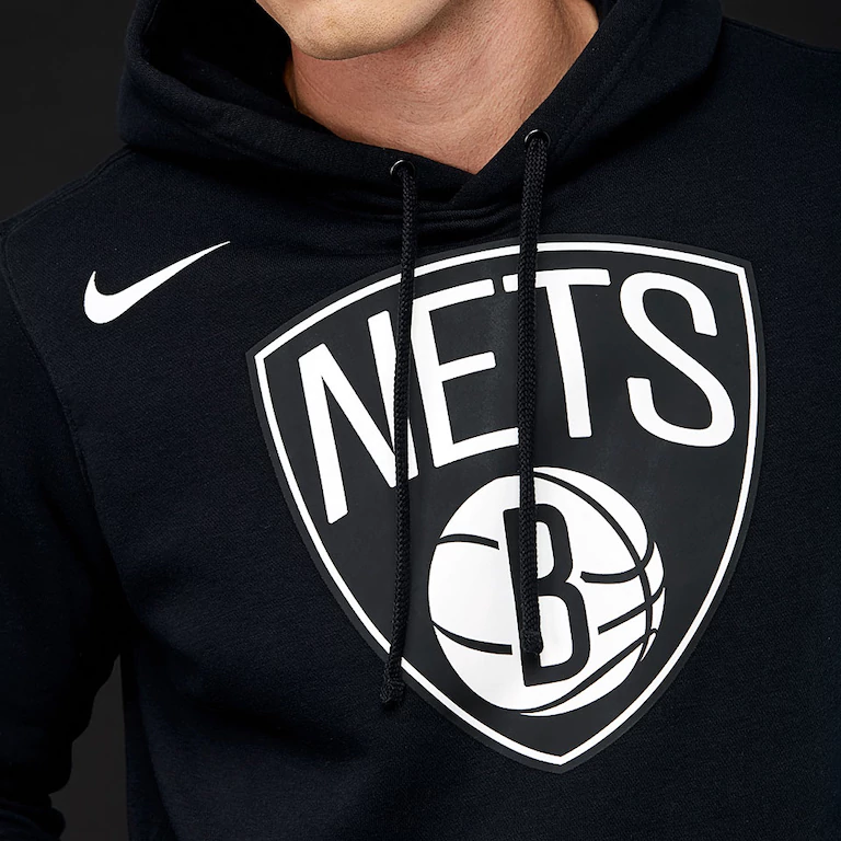736acddc8bb6 Type Hoodies Nike NBA Brooklyn Nets Fleece Hoodie Jacket