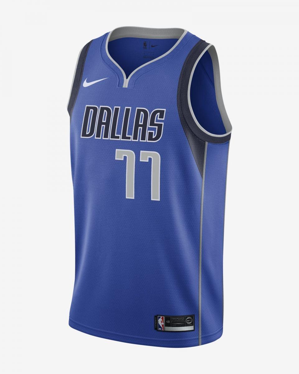 wholesale dealer aebd8 e3fc9 Type Shirts Nike NBA Dallas Mavericks Luka Doncic Icon Edition Swingman  Jersey