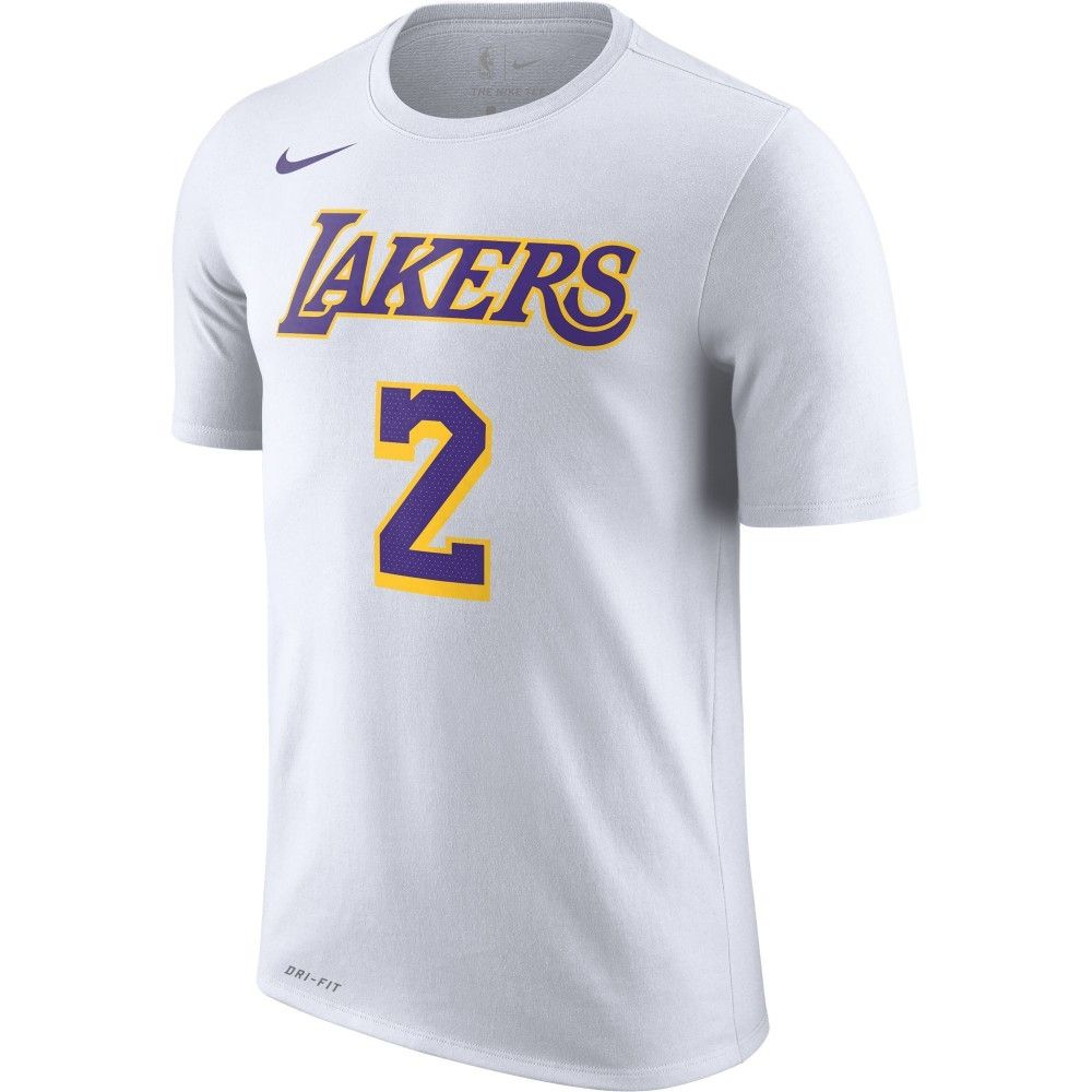 cheap for discount 74985 92a97 Type Shirts Nike NBA Los Angeles Lakers Lonzo Ball Dri-FIT T-Shirt