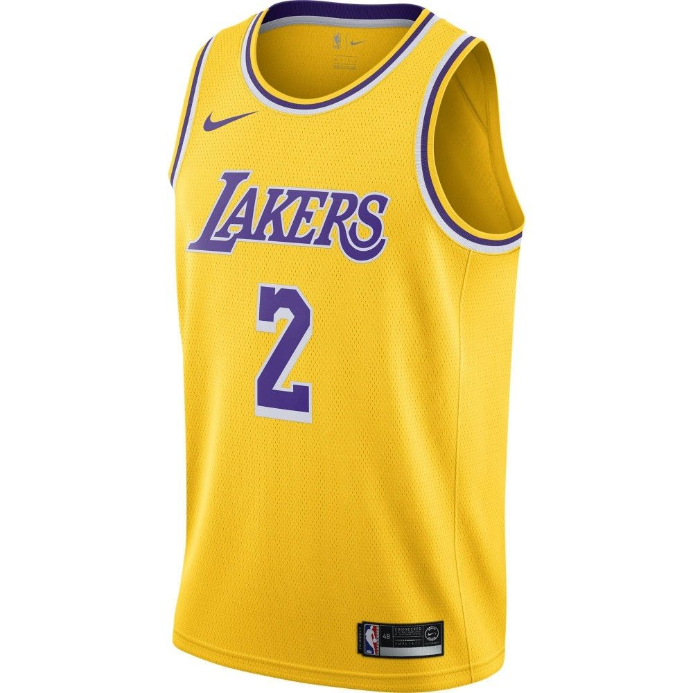 official photos 149cc c03c7 Type Shirts Nike NBA Los Angeles Lakers Lonzo Ball Swingman Jersey