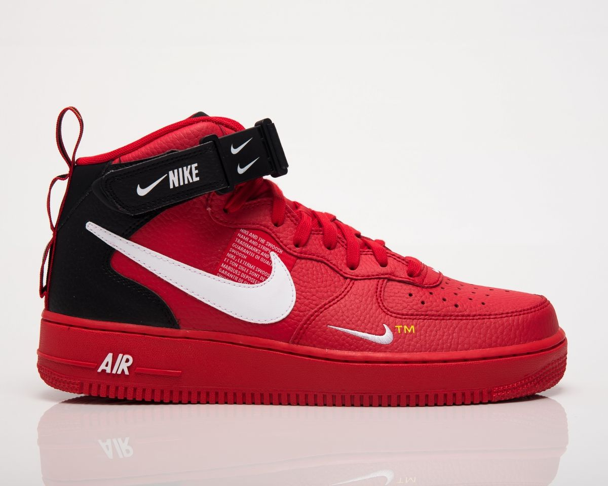 Type Casual Nike Air Force 1 Mid '07 LV8 Utility Red