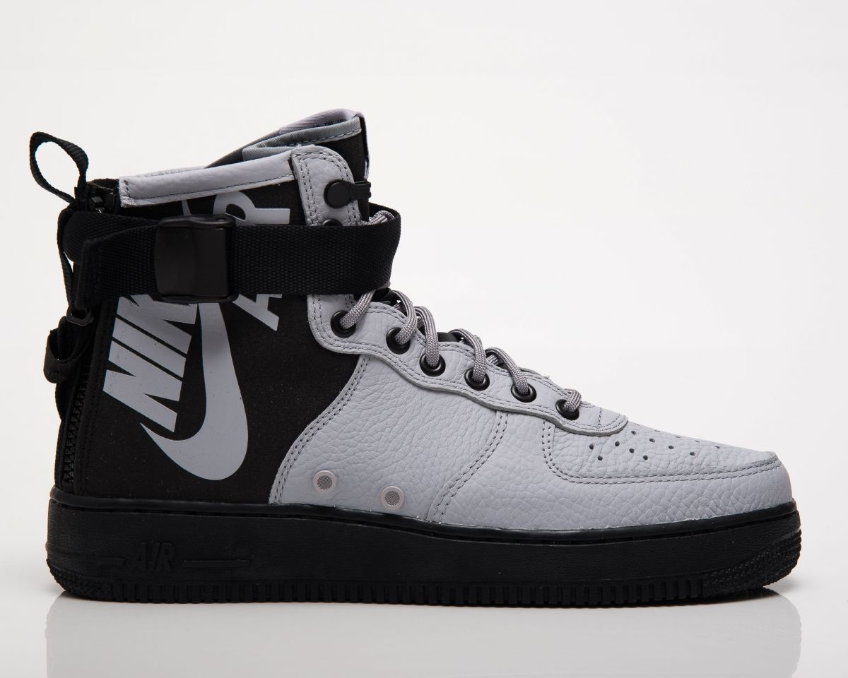 best service 515a5 cf3e5 Кецове Nike SF Air Force 1 Mid Wolf Grey