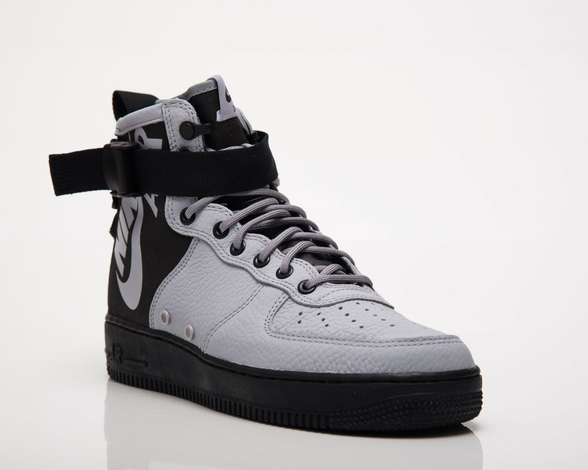 online retailer 1730c 1cb1d Type Casual Nike SF Air Force 1 Mid Wolf Grey