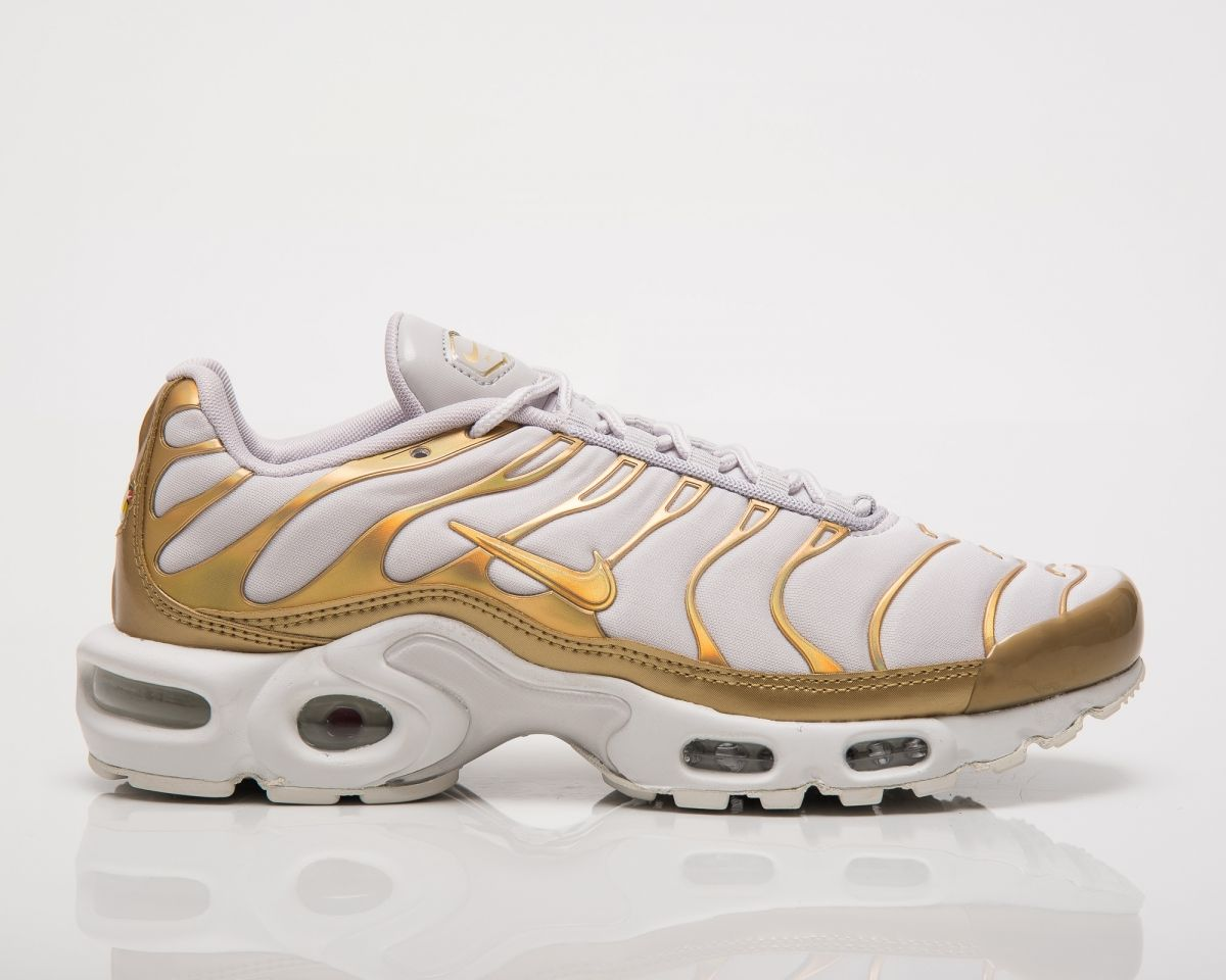 best choice best authentic new cheap Кецове Nike Wmns Air Max Plus Metallic Pack White Gold