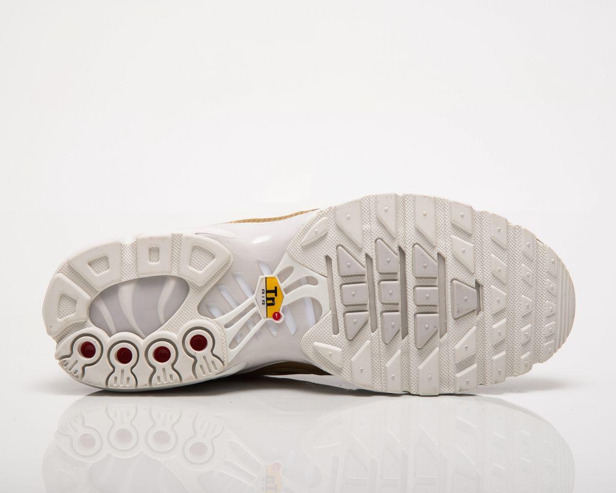 sale retailer d2b7e a6b00 Кецове Nike Wmns Air Max Plus Metallic Pack White Gold