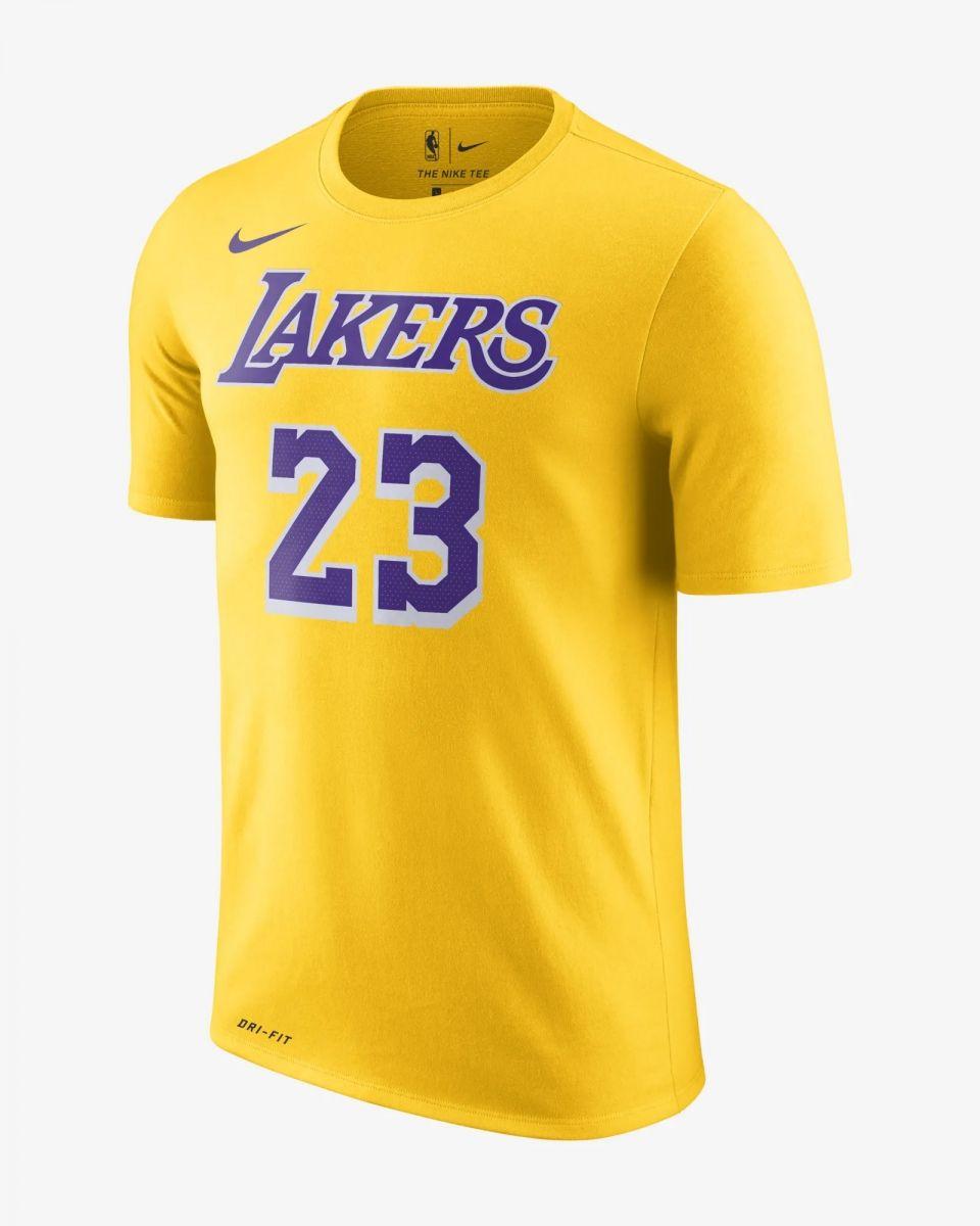 sports shoes 4466d 9d9c5 Type Shirts Nike NBA Los Angeles Lakers LeBron James Dri-FIT T-Shirt