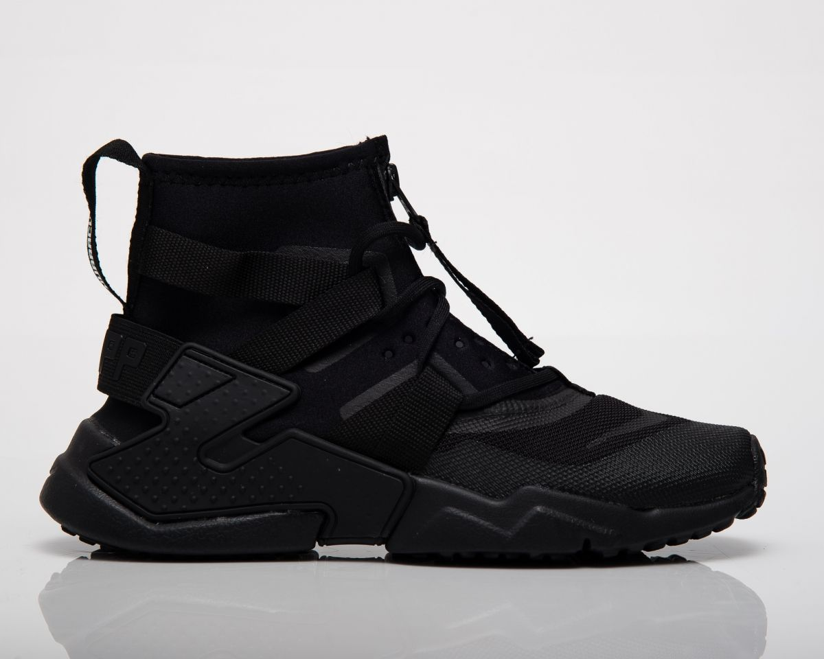 cheaper 12f73 2faa2 Type Casual Nike Huarache Gripp Triple Black GS