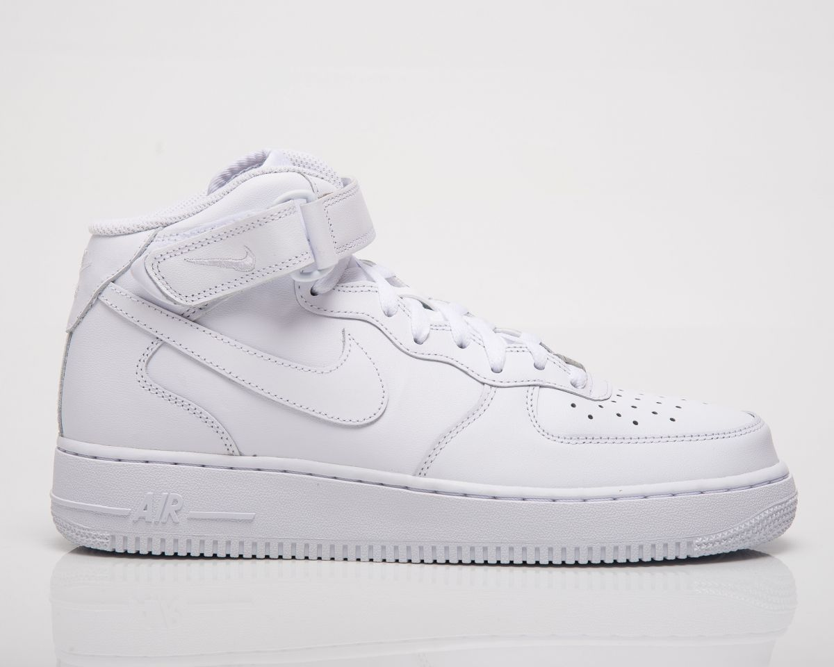 best website 88a74 08ea3 Кецове Nike Air Force 1 Mid   039 07 All White