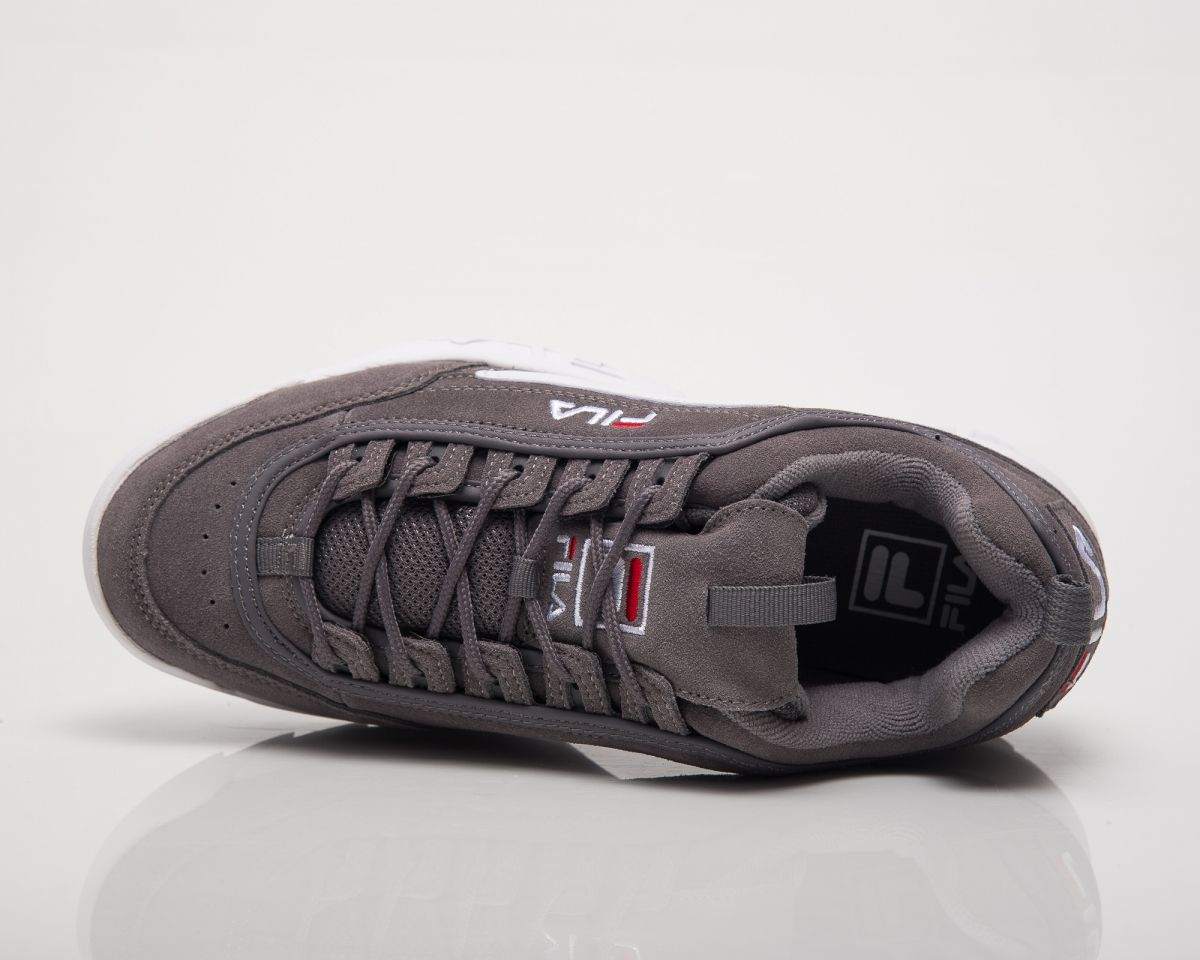 17c07721b578 Кецове Fila Disruptor S Low Monument Grey