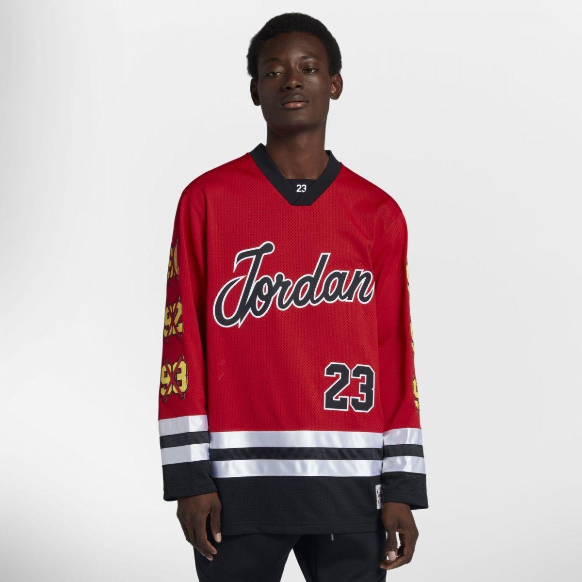1710e3c45 Type Shirts Jordan Sportswear Hockey Jersey