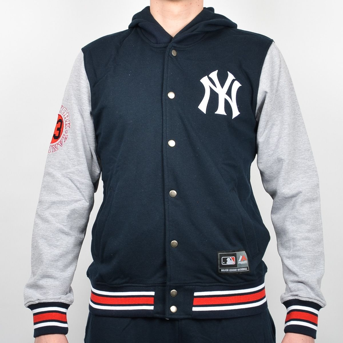 252fb01c1 Type Hoodies Majestic MLB New York Yankees AULD Hooded Fleece ...