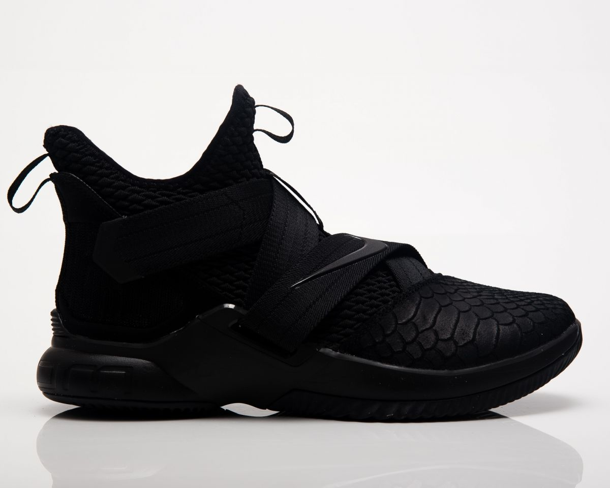 uk availability f740f bd1b4 Type Basketball Nike Lebron Soldier XII SFG Triple Black