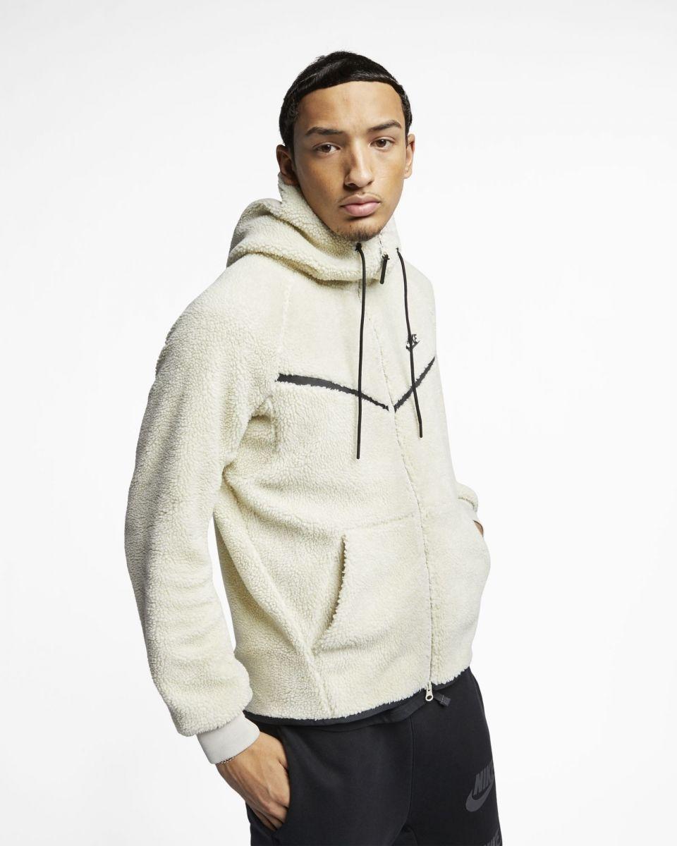authorized site uk cheap sale official photos Type Hoodies Nike Sportswear Windrunner Tech Fleece Sherpa Hoodie
