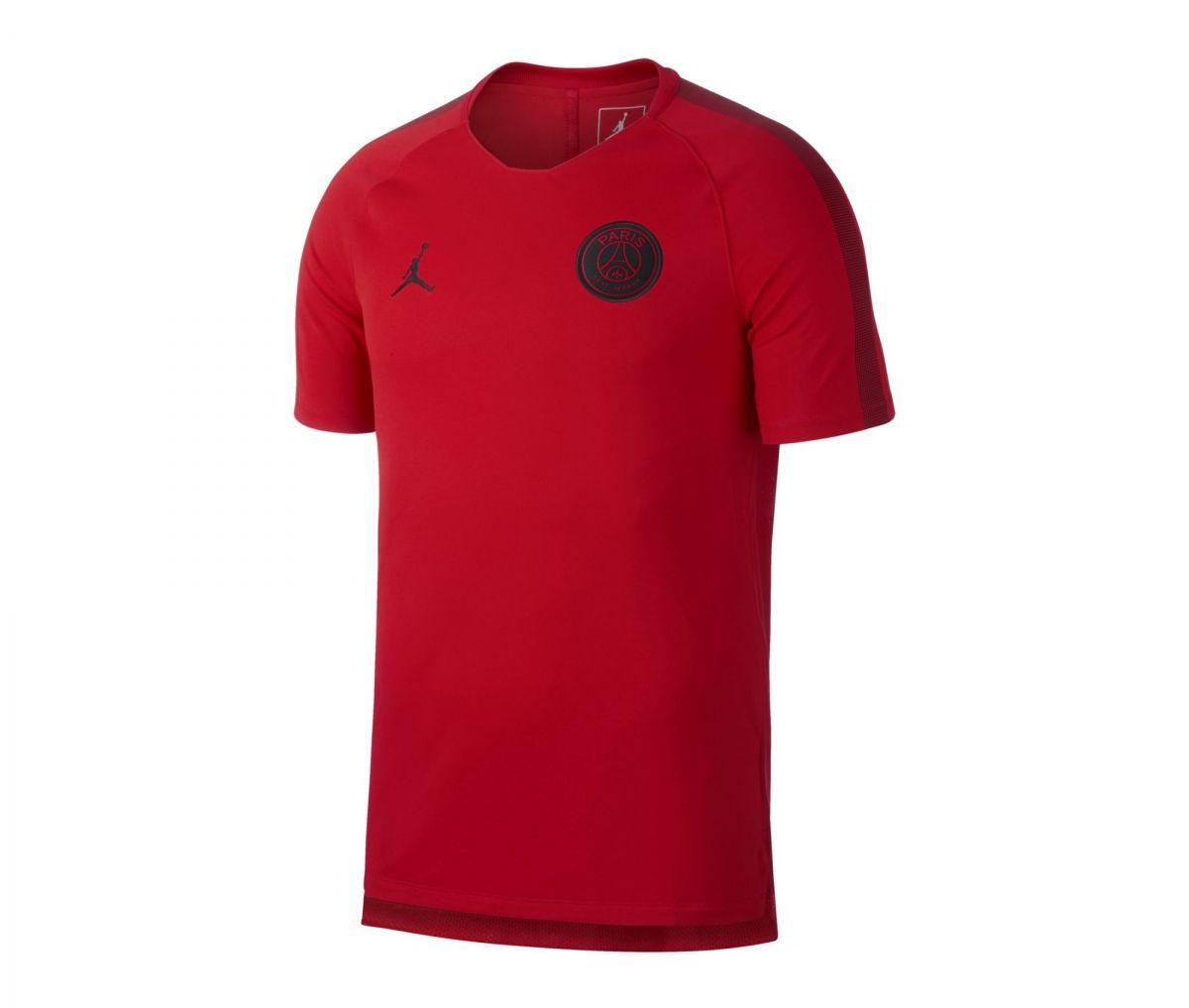 brand new 8a0a9 0fd24 Type Shirts Jordan Paris Saint-Germain 2018/19 Pre-Match Shirt