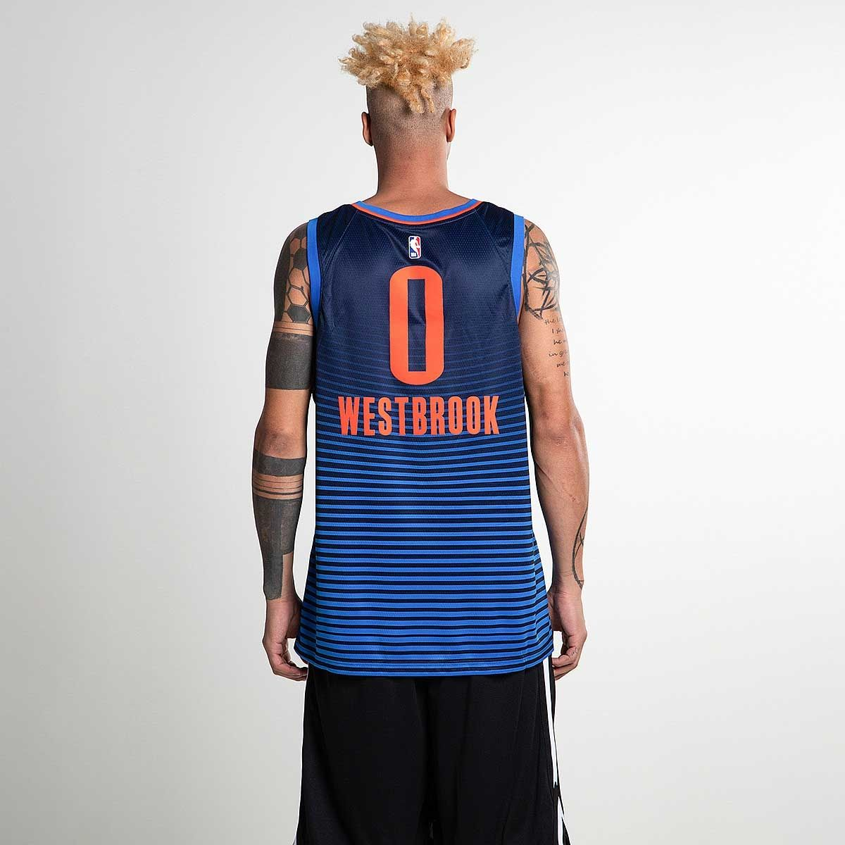 best sneakers b0603 bd82b Type Unknown Nike NBA Oklahoma City Thunder Russell Westbrook Statement  Edition Swingman Jersey