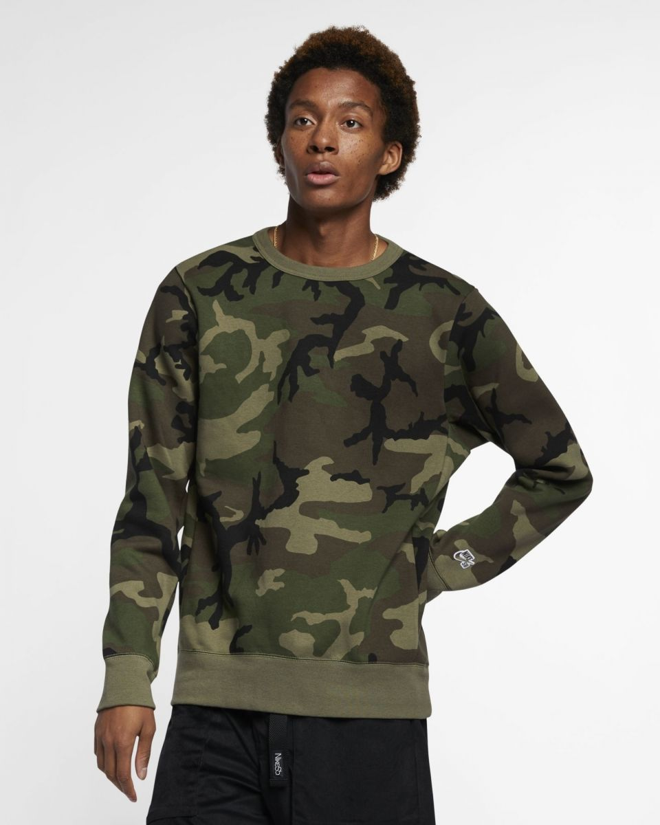 attractive price amazon detailed pictures Type Hoodies Nike SB Icon Camo Skate Top