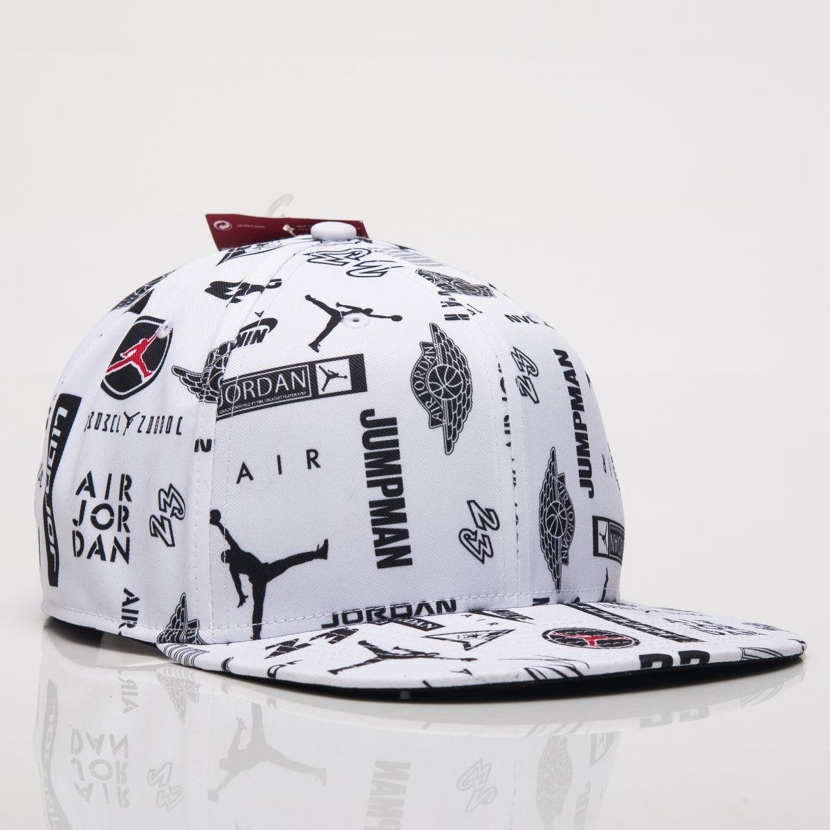 Type Caps Jordan Pro Graphic AOP Snapback c6320ab2e12