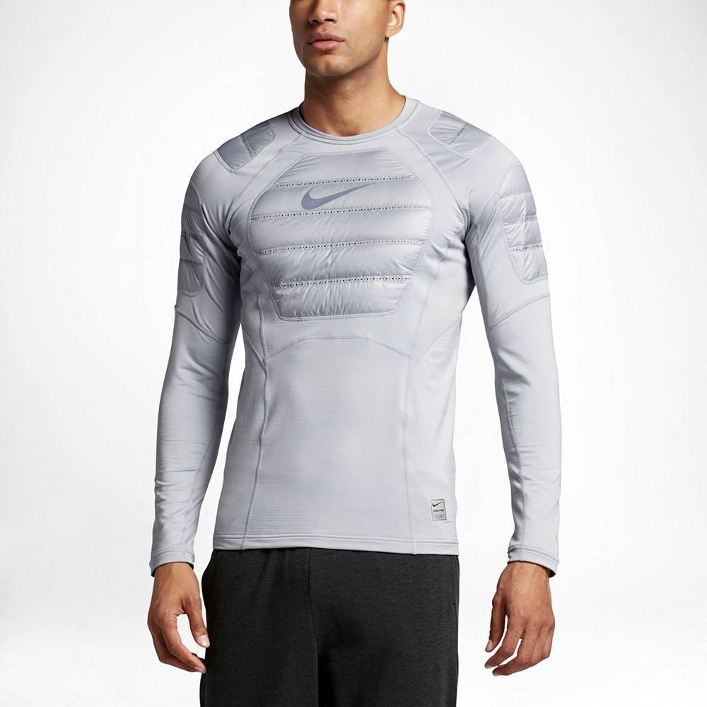 f20cdabcb7618 Type Hoodies Nike Pro Hyperwarm Aeroloft Long Sleeve Training Top