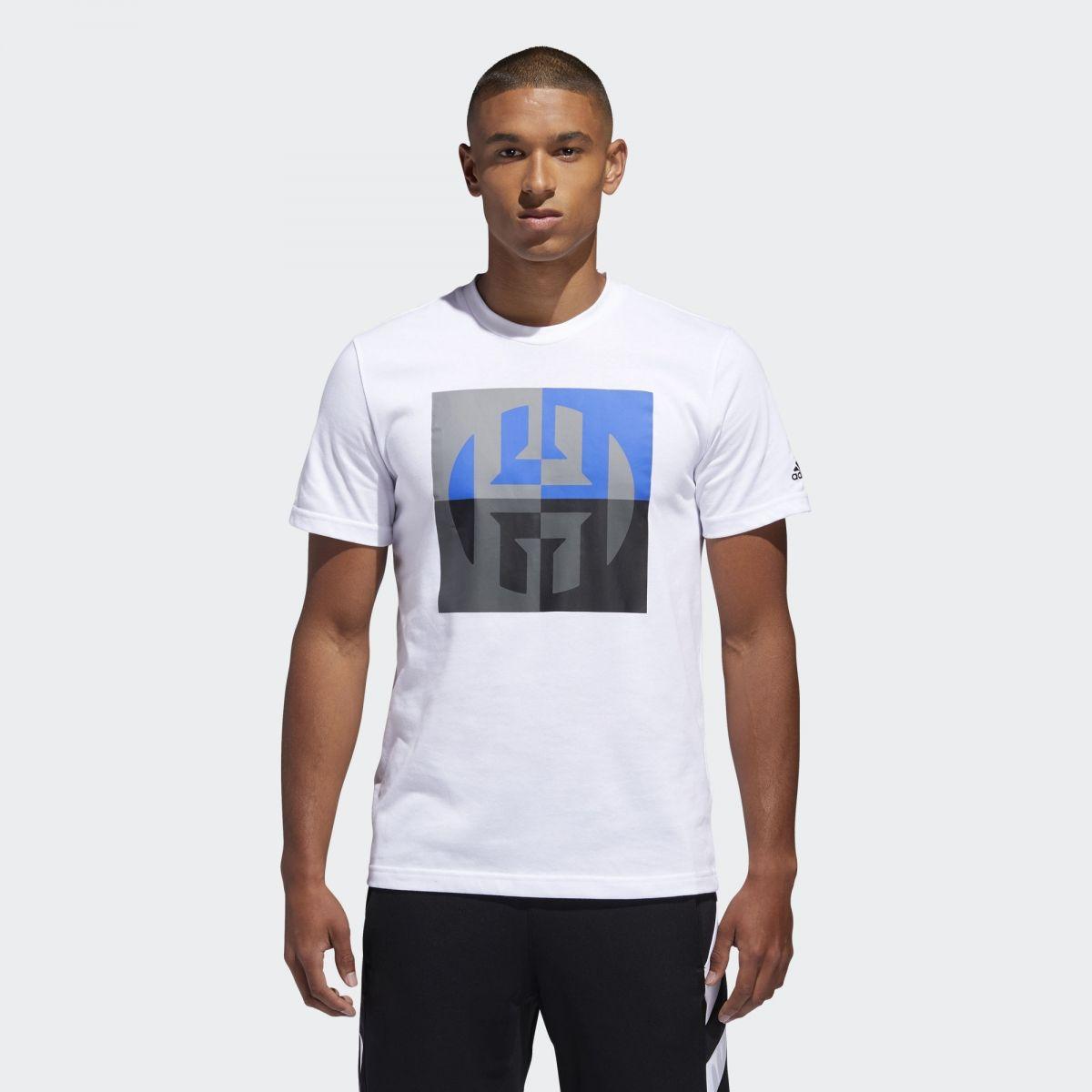 quality design 2814f 61cd3 Type Shirts adidas Harden Logo Tee