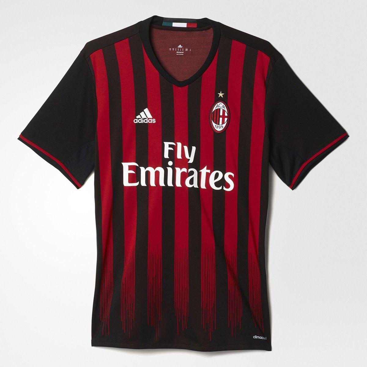 Combatiente Ordenado Grapa  Type Shirts adidas AC Milan Home Replica Jersey