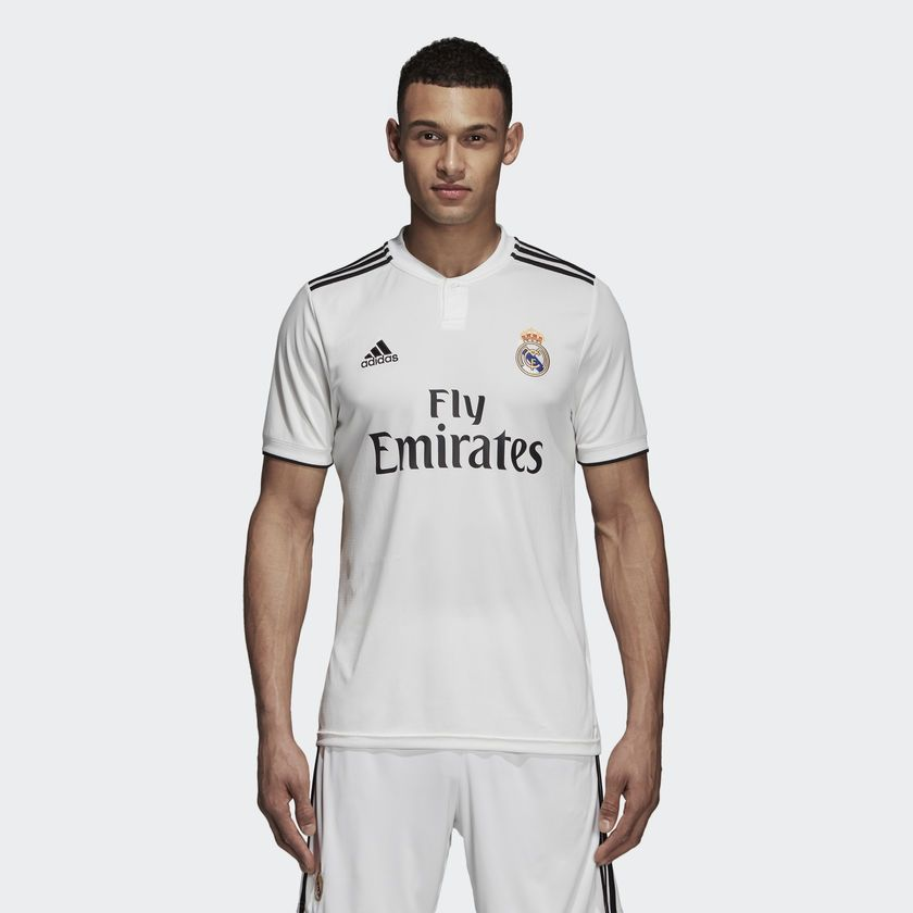 online store 358ff 3cc58 Type Shirts adidas Real Madrid 2018/19 Home Replica Jersey