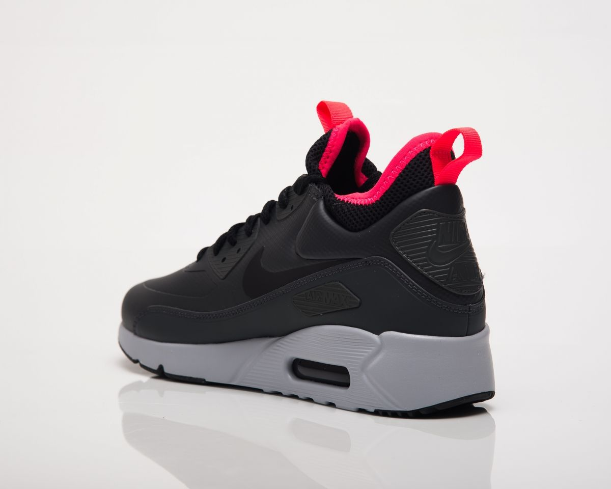 Nike Air Max 90 Ultra Mid Winter Grey Red