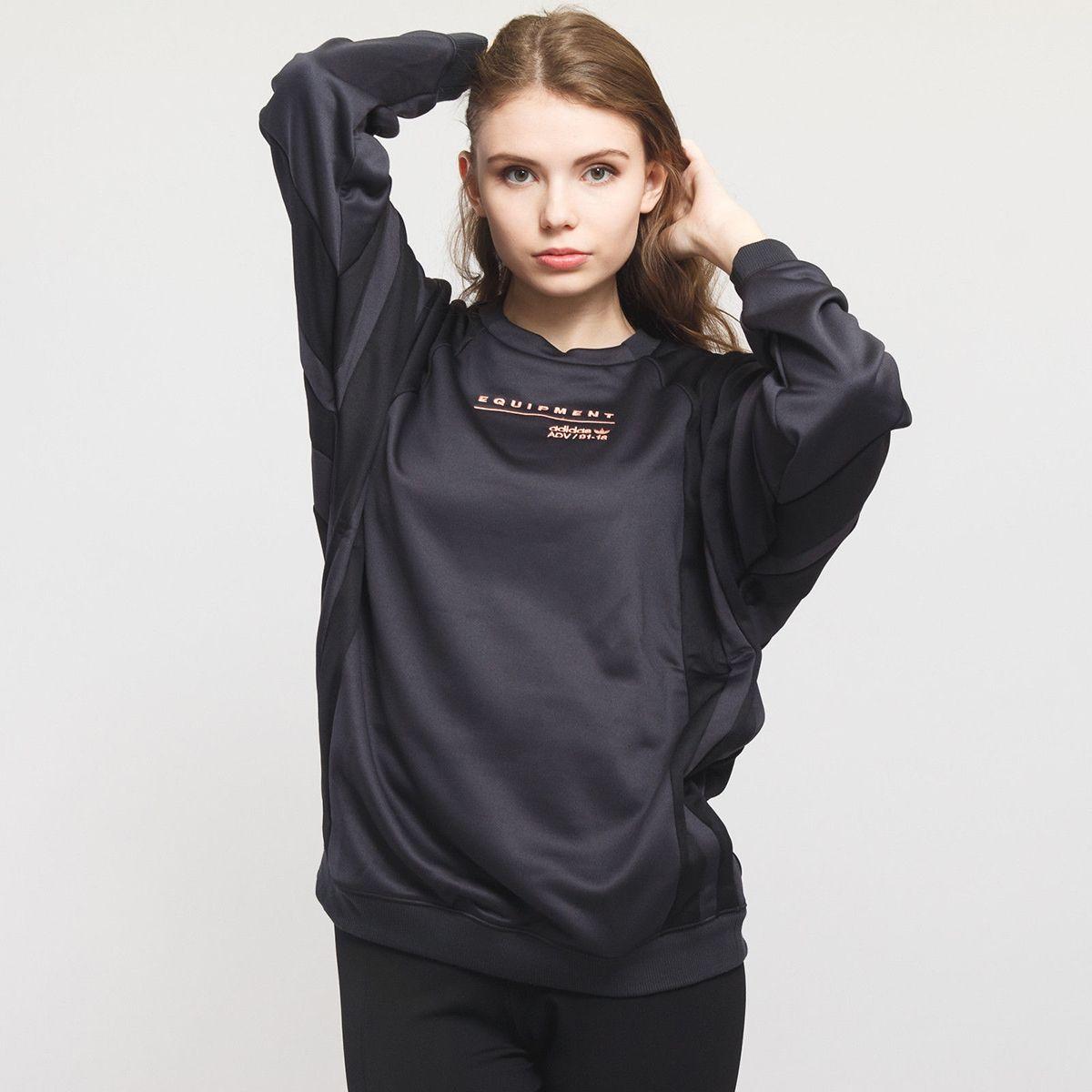 the best attitude 7b593 8ce32 Type Hoodies adidas Originals Wmns EQT Sweatshirt