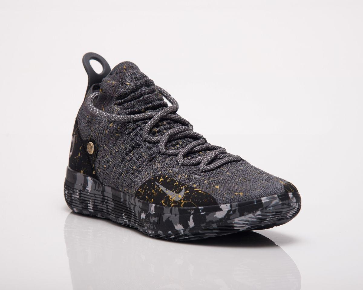 4ec9e271df9 Баскетболни кецове Nike KD 11 Gold Splatter