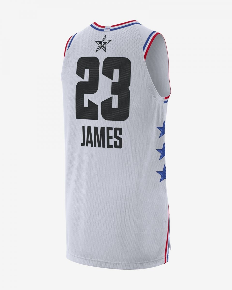 low priced 31a60 d08f0 Type Shirts Jordan NBA LeBron James All-Star Edition Authentic Jersey