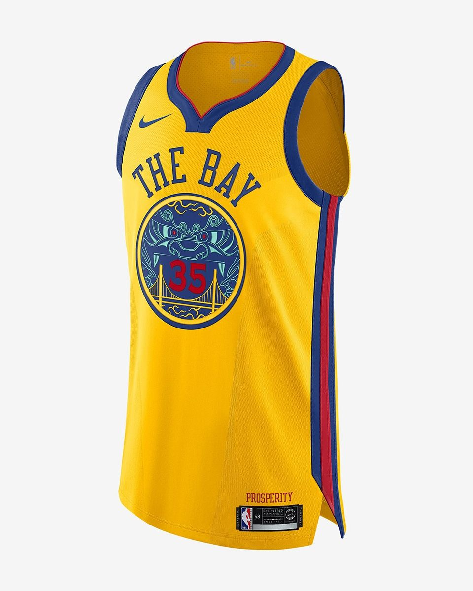 sale retailer 1ab28 6c728 Type Shirts Nike NBA Golden State Warriors Kevin Durant City Edition  Authentic Jersey