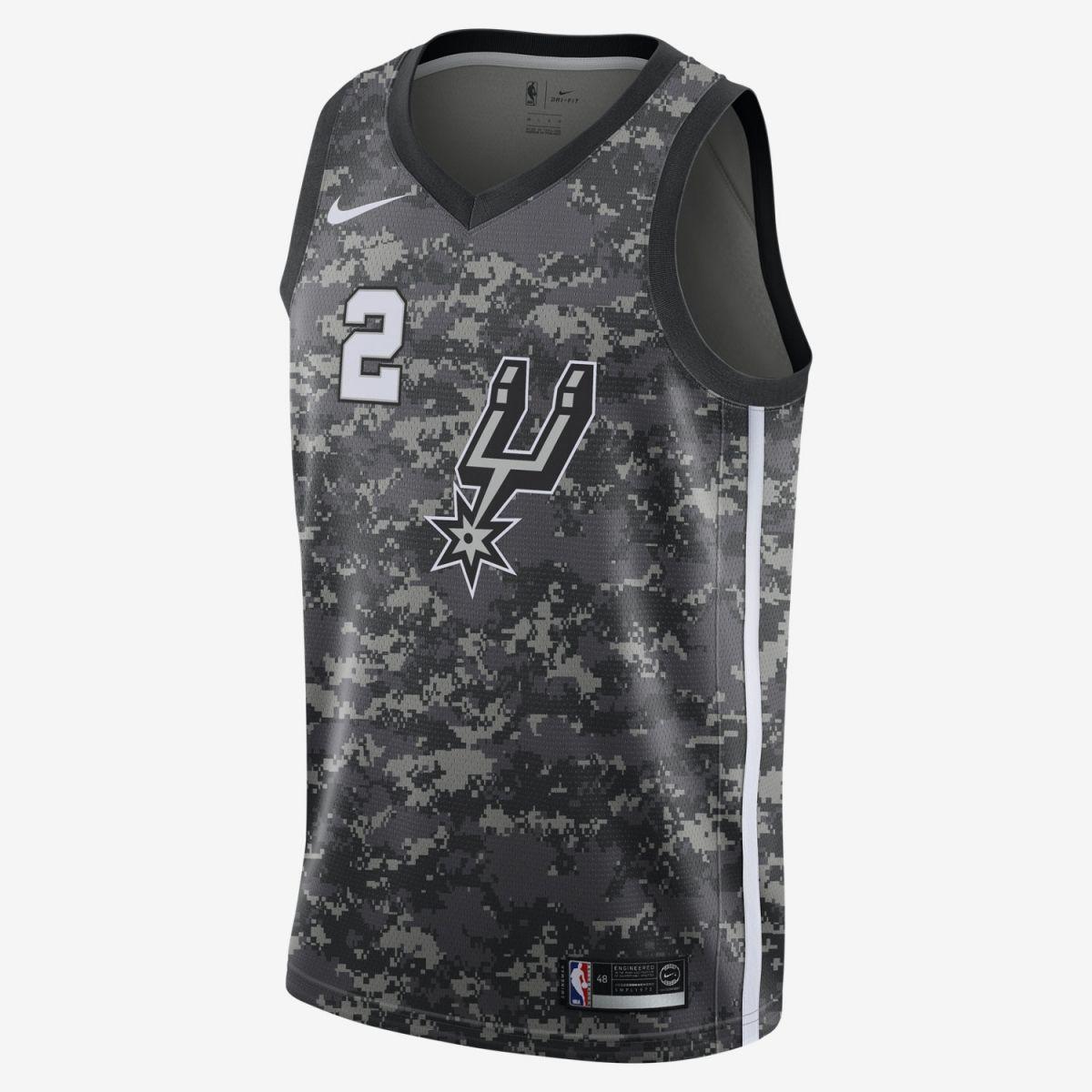 best service f3e1b c603a Type Shirts Nike NBA San Antonio Spurs Kawhi Leonard City Edition Swingman  Jersey